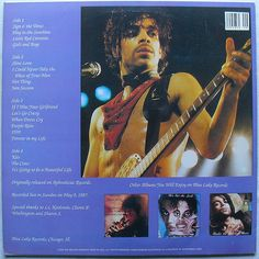 PRINCE 1987 BOOTLEG LP record album When Doves Cry Its A Sign O The Times vinyl B   by Christian Montone