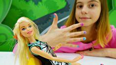 Пластилин Плей До! Маникюр для куклы барби с Викой Зелик.