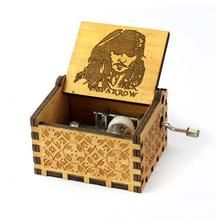 Harry Potter Music Box Game of Thrones Music Box Star Wars Wooden Hand Crank Theme Music Wooden Music Box, Wooden Boxes, Harry Potter Music Box, Music Box Maker, Music Boxes, Antique Music Box, Vintage Typewriters, Vintage Storage, Christmas Gift Box