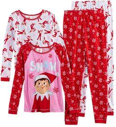 Cute elf on the shelf pajamas ! #ad