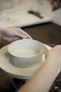 In the studio... - Pi Bjørg Ceramics