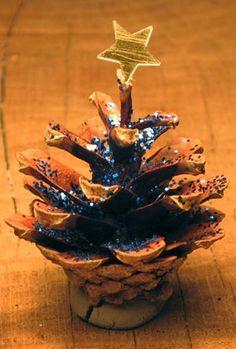 Fyrrekogle-juletræ