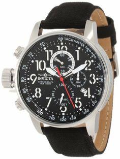 Invicta Men's 1512 I Force Collection Chronograph Strap Watch Invicta.