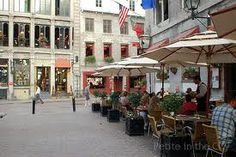 'Old Town' of Montreal, Quebec Montreal Quebec, Quebec City, Old Town, Places Ive Been, Street View, Canada, Spaces, World, Travel