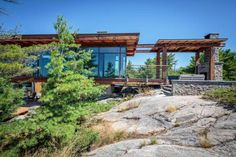 Toronto architect Charles Gane is looking forward to April, when he will open up his 2,000-square-foot Georgian Bay cottage for its first complete season. (Paul Orenstein)