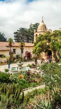 Mission San Carlos Borromeo de Carmelo, Carmel-by-the-Sea, Monterey, California