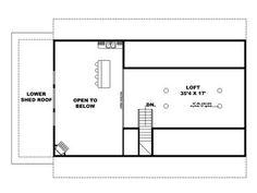 2nd Floor Plan, 012G-0136