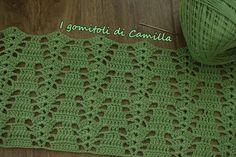 Fashion and Lifestyle Filet Crochet, Crochet Stitches Patterns, Crochet Chart, Crochet Designs, Crochet Baby Dress Pattern, Lace Knitting Patterns, Basic Embroidery Stitches, Crochet Accessories, Crochet Clothes
