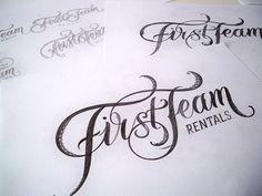 Handlettered Logotypes by Mateusz Witczak