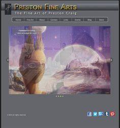 New Fine Arts, Art Sites, Landing, Fantasy, Website, Fantasy Books, Fantasia