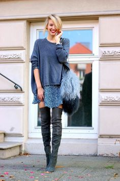 Cute oversized sweater outfit Ideas For 2015 (17)
