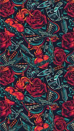 Wallpaper Kawaii, Goth Wallpaper, Crazy Wallpaper, Black Phone Wallpaper, Pop Art Wallpaper, Apple Wallpaper, Cute Wallpaper Backgrounds, Screen Wallpaper, Glasses Wallpaper