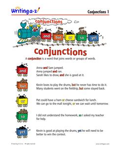 LIST: CONJUNCTIONS PRIMARY | Writing A-Z Kevin Love, How To Play Drums, English Grammar, Messages, Writing, Words, Being A Writer, Letter