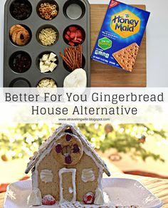 Better For You Gingerbread House Alternative - #HoneyMaidHouse [ad]