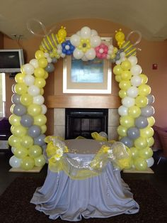 bee themed balloons - Google Search