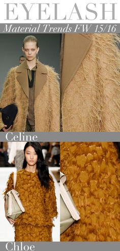 Trend Council: Material Trends FW 15/16 - EYELASH