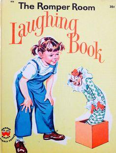 The Romper Room Laughing Book by Lonestarblondie on Etsy, $5.00