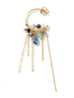 H.P.FRANCE BIJOUX|SWEET PEA|PALETTE OF BLUE ピアス(片耳用)