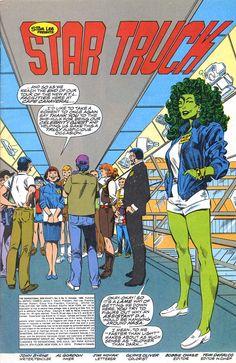 Byrne Robotics: JBF Reading club : The Sensational She-Hulk # 6