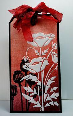 Eileen's Crafty Zone: Lavinia Stamps Poppy Pods, Sweet Poppy Stencils and PanPastels.