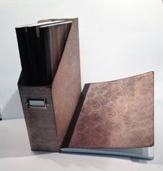 Club Scrap Creates: Handmade Gift Idea: Boxed Journal Set - Terrific pinterest inspired set created with the Neutrals Pattern Basics papers by Karen Wyngaard