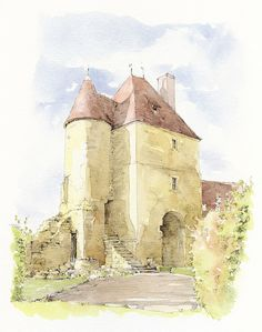 La Grand Cour, Mornay-Berry, Cher, France | by Linda Vanysacker - Van den Mooter