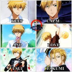 I Love Anime, Anime Guys, Killua, Best Romantic Comedy Anime, Maid Sama Manga, Usui, Kaichou Wa Maid Sama, Handsome Anime, Memes