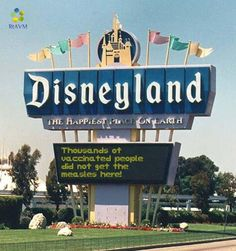 If there's one thing Disney has taught us for years, it's that it's a small world after all. And the recent measles outbreak stemming from the company's southern California theme park simply reaffirms that message in the worst way. Even if you live on the other side of the country, [...]