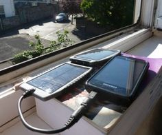Solar powered life Digital nomad