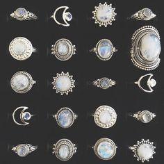 Cute Jewelry, Boho Jewelry, Jewelry Rings, Jewelry Box, Silver Jewelry, Jewelry Accessories, Fashion Jewelry, Jewelry Design, Silver Ring