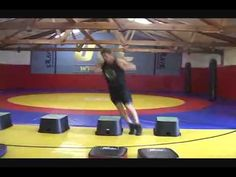 One of my favorite workouts from MMA icon, Randy Couture.  This circuit of plyometrics is a really effective full-body workout if you have a partner or group.  Be prepared to sweat and breathe heavily for about 25 minutes.