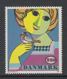 XG-AA443 DENMARK 1986 - Paintings, Bjorn Wiinblad MNH Set in Stamps, Europe, Denmark/Faroe Islands | eBay
