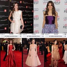 """Dress girls you""""re☑️beauty Hailee Steinfield_red carpet dresses photo top listing ☮brand express from #haileesteinfield of herself singer"""
