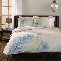 BRENDA duvet cover and pillowcase set featuring a beautiful embroidered floral or assorted pattern in many colors. King Includes: 1 Duvet and 2 Pillow Shams NEW DUVET COVER SET. Bed Sets, Duvet Sets, Duvet Cover Sets, Pillow Covers, Bungalow, California King Duvet Cover, Duvet Bedding, Bedspread, Cotton Duvet