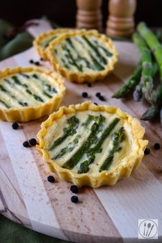 Spargel-Quiches I Asparagus quiches