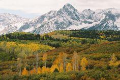 fall near Ouray Colorado