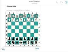 Do you love chess? Read on! There is a hidden trick that will allow you play chess with your friends using Facebook messenger app. Just type in @fbchess play and a Facebook chess board will appear.� How To Play Chess, Facebook Messenger, Thing 1, Entertainment, App, Reading, Friends, Board, Amigos