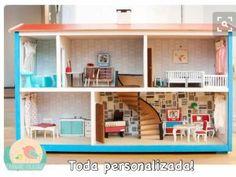 Faça você mesmo_ Casa de bonecas