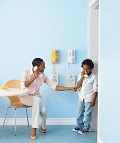 Off the hook call center - genius playroom decorating