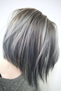 Silver Hair Color 241