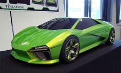 Lamborghini Timador Concept, another beauty. I love the color.