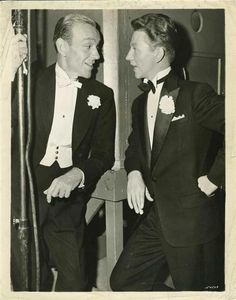 Fred Astaire and Donald O'Connor. It would have been fun to see these two guys in a movie together!