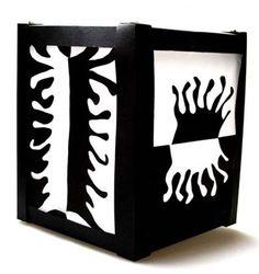 Folding cut-lantern