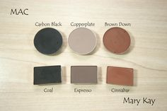 Comparativa de sombras. Sin duda Mary Kay www.marykay.es/lydiarodriguez  lydiarodriguezmk@gmail.com