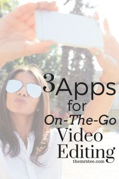 How do I get my vlog-styled videos and event coverage recorded, edited, uploaded and published so quickly? You've asked and I'm answering! Ready? Here are my3 Apps For On-The-Go YouTube Video Editing!