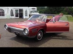1963-64 Chrysler Turbine concept car...this really would be zoom-zoom-zoom...!