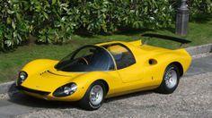 1967 Ferrari 206 Dino Berlinetta Competizione Concept by Pininfarina #1960s
