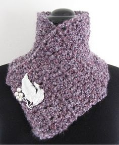 Super Quick and Easy Scarflette: A free pattern for you