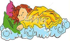 Schlaftag, Schlaf und Wölkchenträume