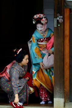 maiko hisamomo + ayaha | japanese culture #kimono